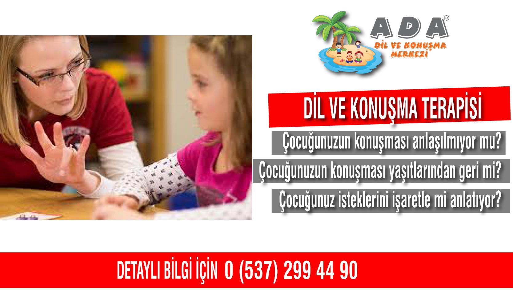 Dil ve Konuşma Terapisi İzmir