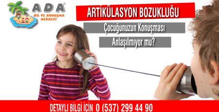 Artikülasyon Bozukluğu İzmir