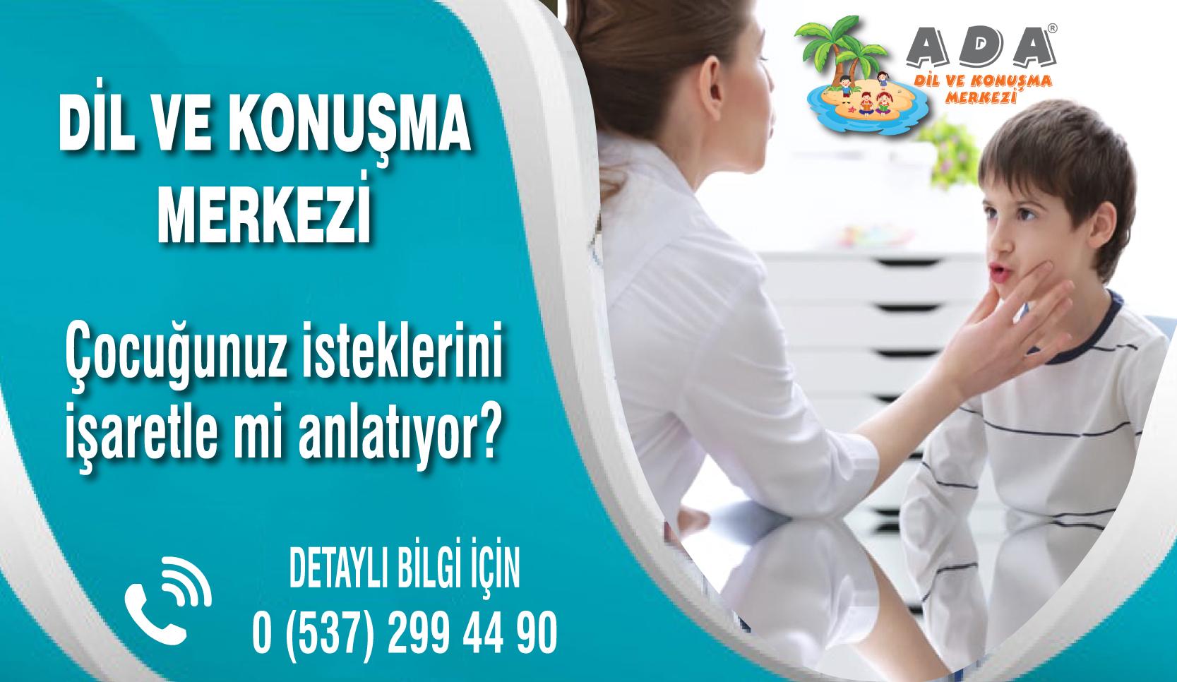 Konuşma Terapisi İzmir