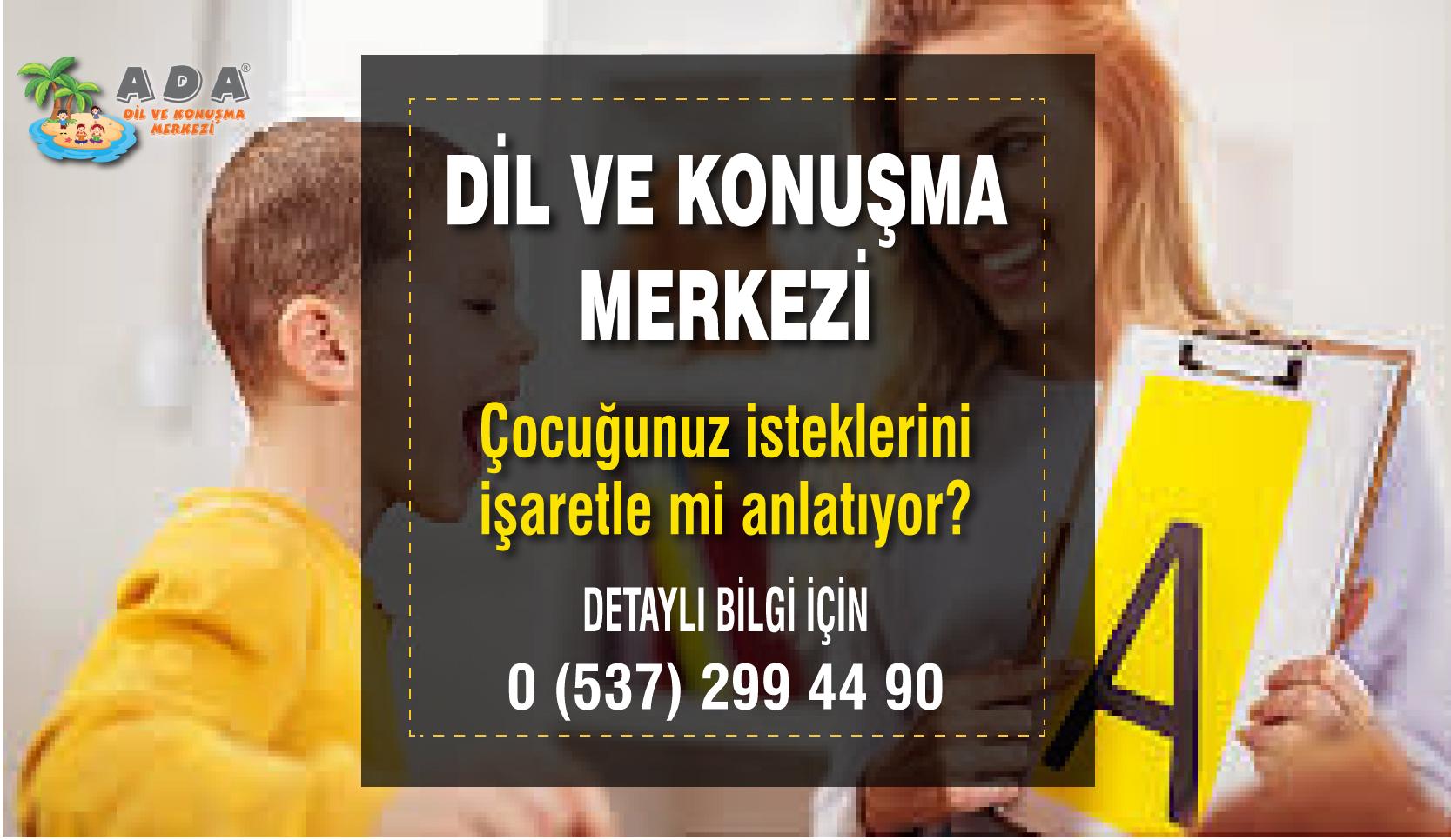 Konuşma Terapisi Merkezi İzmir